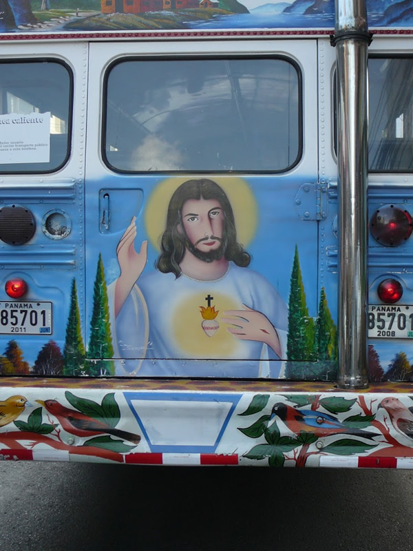 jesus on a bus