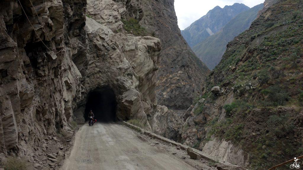 Einer von 36 Tunneln.