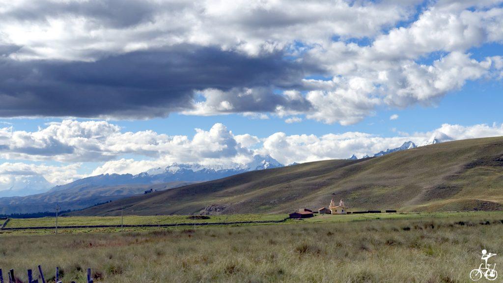 Die Cordillera Blanca.